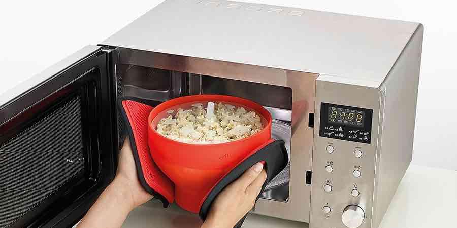 Como hacer palomitas caseras en microondas.lekue palomitas mantequilla.palomitero para microondas